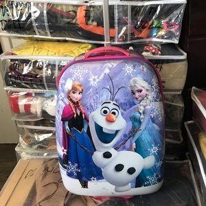 Disney Frozen Hard Shell Luggage
